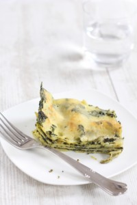 Quick and easy spinach lasagna - Croque-Maman