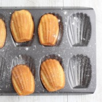 Madeleines recipe tray - Croque-Maman SQ