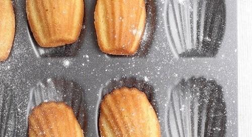 Madeleines recipe tray - Croque-Maman SQ