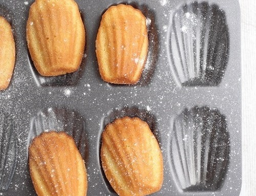 Irresistible French madeleines