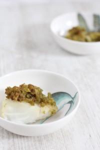 Pesto crusted cod recipe - Croque-Maman