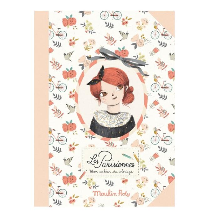 Coloring book for kids – Les Parisiennes