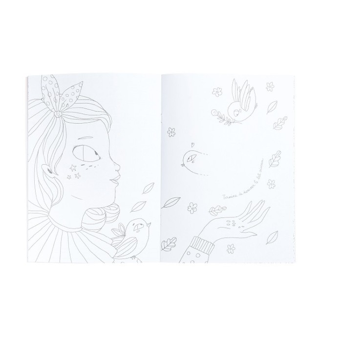 Coloring book for kids – Les Parisiennes