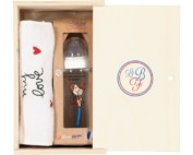 My Love baby bottle & bib gift set