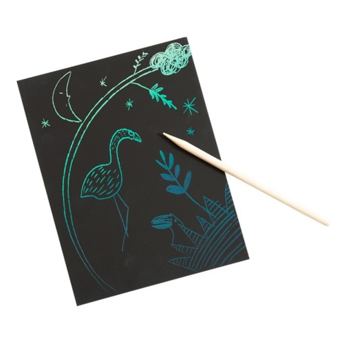 Scratch art cards – pink